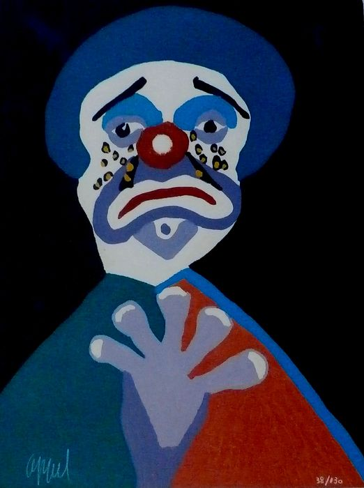 clown karel appel