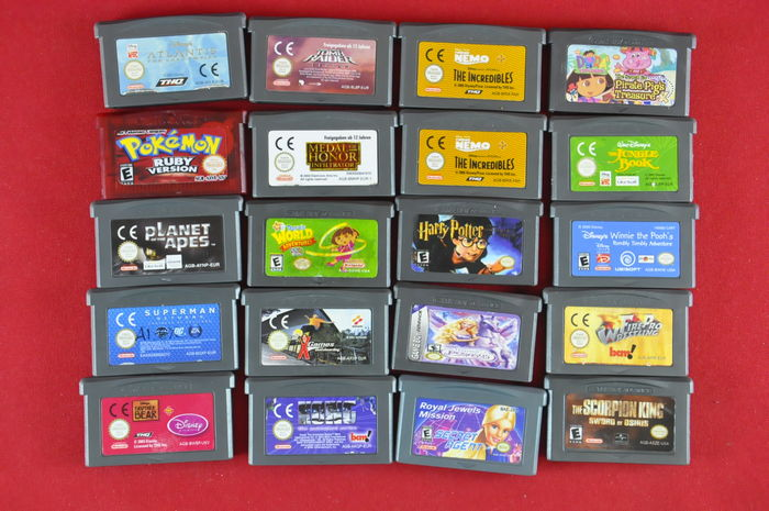 Used Nintendo Gameboy and GBA games for sale in Lower ...
