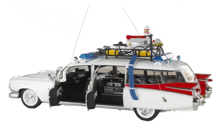 ghostbusters hot wheels elite 1 18 ghostbusters ecto. Black Bedroom Furniture Sets. Home Design Ideas