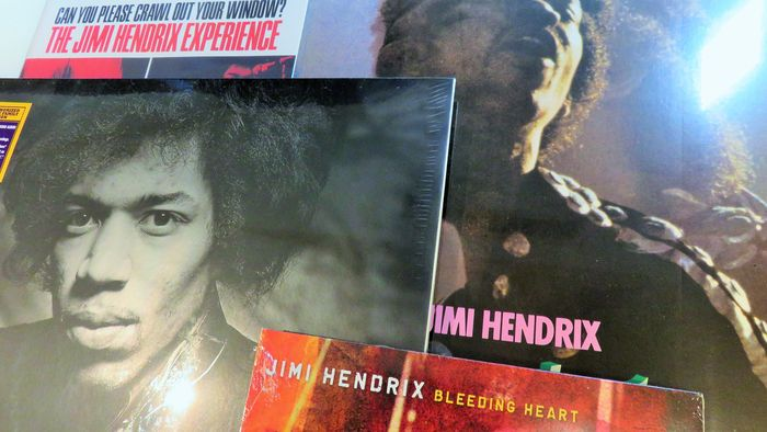 Jimi Hendrix Great Lot Of 2 Albums 3 Lps 2x Limited 7inch
