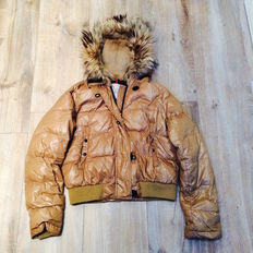 Moncler - Winter jacket with fur collar