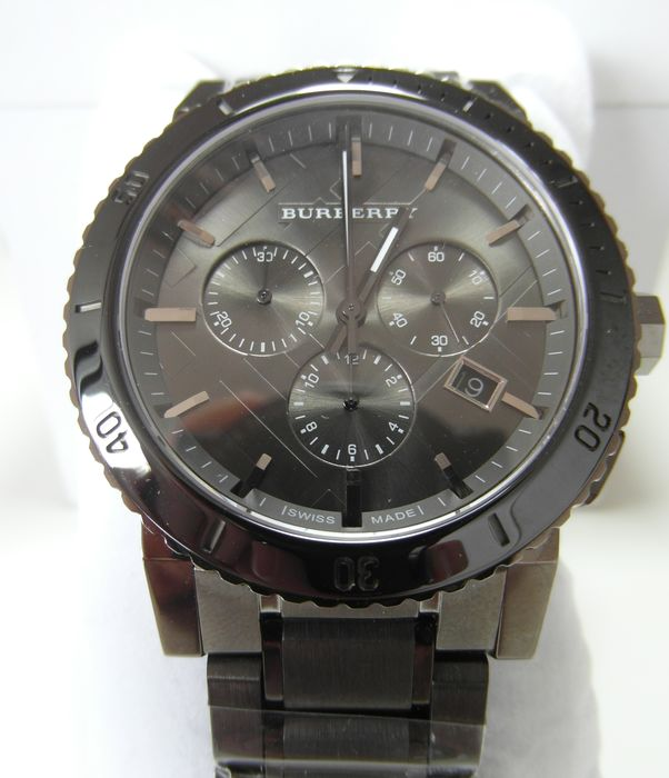 mens reloj burberry the city cron243grafo bu9381 wrist