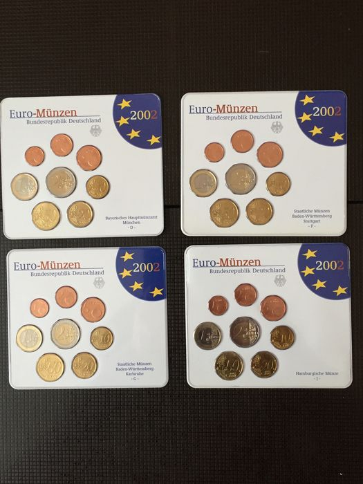 Germany Euro Sets 2002 2012 52 Pieces Catawiki