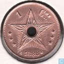 Congo Free State 1 centime 1888