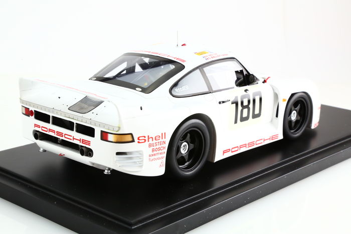 spark model scale 1 18 porsche 961 n 180 25 hours of le mans 1986 with exclusive porsche. Black Bedroom Furniture Sets. Home Design Ideas