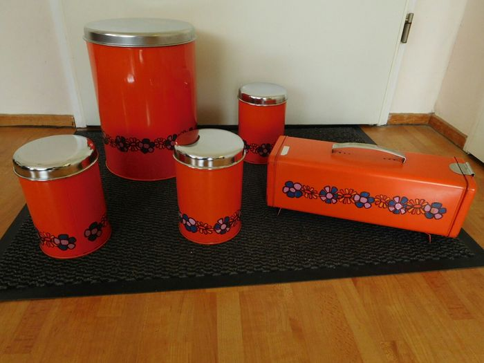 Brabantia collection of storage containers and biscuit tins Catawiki