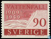 Postage Stamps - Sweden [SWE] - 50 years state power plants