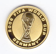 "Australia - 4 Dollars 2006 ""2006 Fifa World Cup Germany"" - Gold"