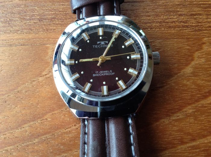 Technos – men's wristwatch – 1970s