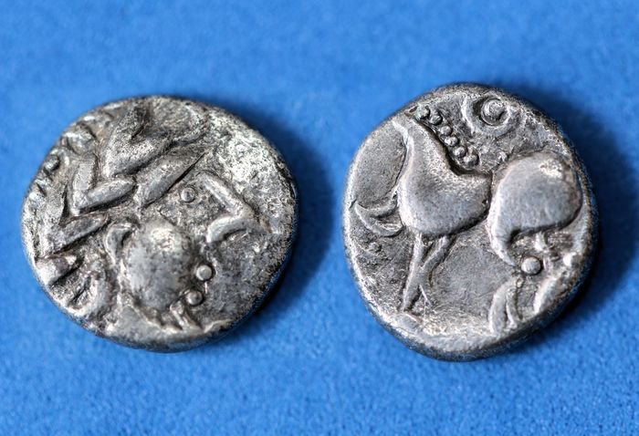 Gallia central europe celtic silver drachm c2nd 1st century bc gallia central europe celtic silver drachm c2nd 1st century bc publicscrutiny Image collections