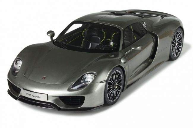 gt spirit scale 1 12 porsche 918 spyder dark grey catawiki. Black Bedroom Furniture Sets. Home Design Ideas