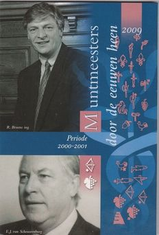 "The Netherlands – Year pack 2009 ""Coin masters part VII silver"""