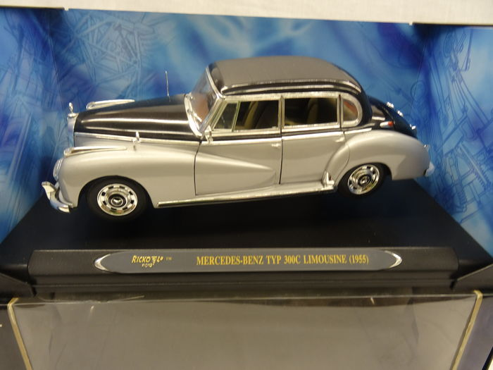 Ricko scale 1 18 mercedes benz typ 300c limousine 1955 for Mercedes benz 300c