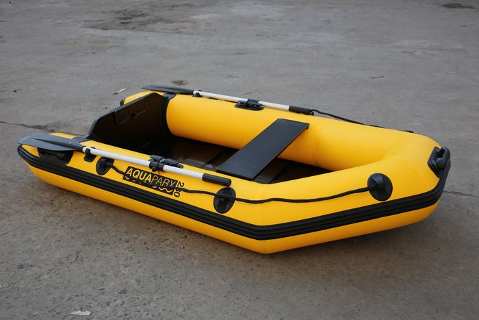 RIB-design boat 230 cm in length + outboard engine (1,2 hp 4-stroke) -  Catawiki