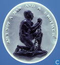 USA  Slavery Abolitionist Token - Am I Not A Man  1788
