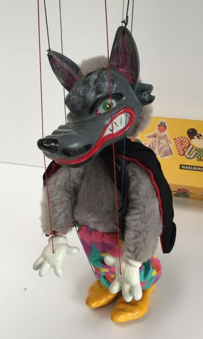 how to make a big bad wolf puppet