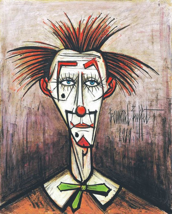 Bernard Buffet 1928 1999 Clown Triste Catawiki