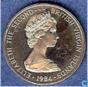 Britse Maagdeneilanden 25 cents 1984 (PROOF)
