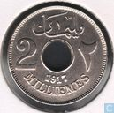Egypt 2 milliemess 1917 (year 1335 - without mintmark)