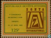 7th Conference of District XVIII - Abidjan