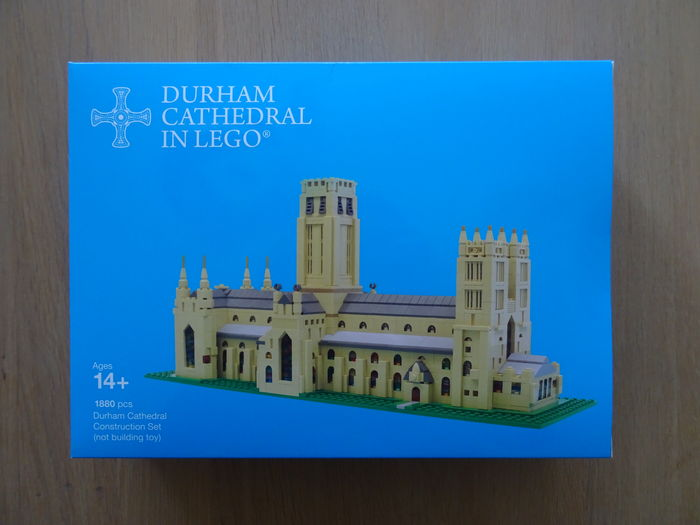 LEGO Certified Professional - LEGO Durham Cathedral - 2015 -   1880 pieces