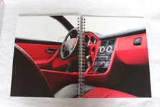 Original rare book 'The World Of SLK'  - 1996 - in Aluminium cover front & back 48 pages. Very rare special edition.