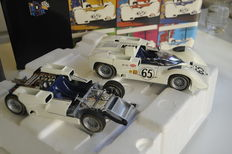 Exoto - Scale 1/18 - First Heat Can Am Collection: Chaparral 2E #65 naked chassis without body & Lola  T70 #
