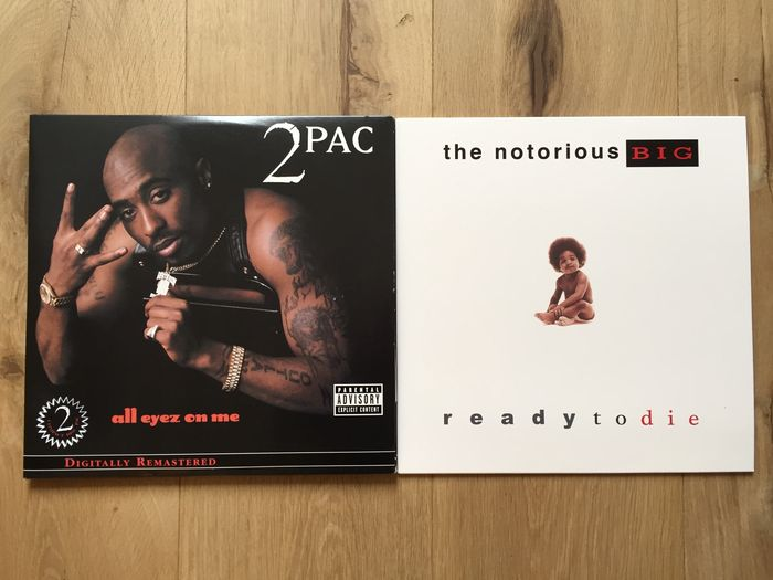 Best albums of 2Pac & Notorious B I G  - All Eyez On Me