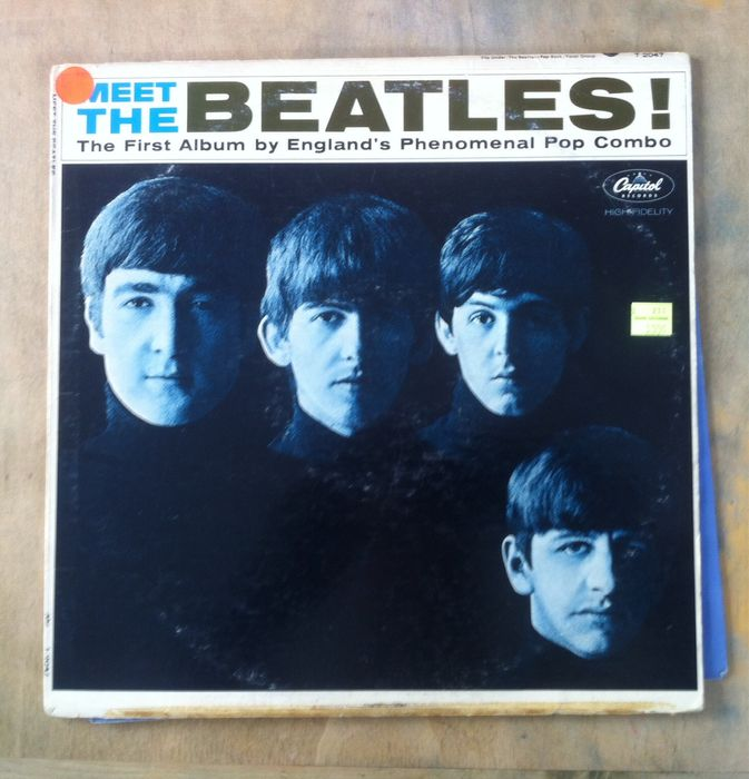 what is the beatles first album