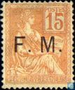 Allegory (Type Mouchon), with overprint