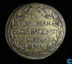 Germany  In Memoriam Pacis Badensis  7.Septembre, 1714