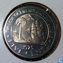 Liberia 5 cents 1975(PROOF)