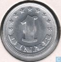 Yougoslavie 1 dinar 1953