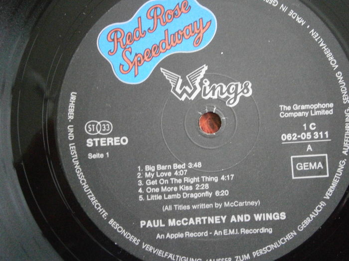 Lot of eight (8) Icons by Paul McCartney and The Wings