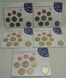 Germany – Year packs 2014 A, D, F, G, J