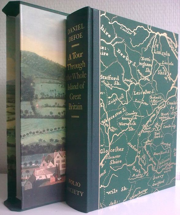 Folio Society; Daniel Defoe - A Tour Through the Whole Island of Great Britain from 1724 to 1726 - 2006