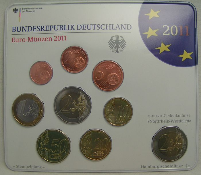 Germany Year Packs 2011 A D F G J Catawiki