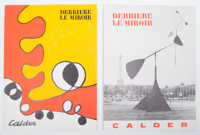 Calder lot with 2 issues of derri re le miroir 1959 for Miroir 220 review