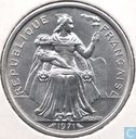 New Caledonia 2 francs 1971