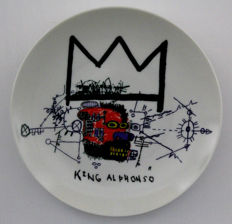 Jean-Michel Basquiat - King Alphonso