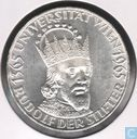 "Autriche 50 schilling 1965  ""600th Anniversary of the Vienna University"""