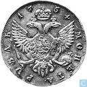 Russie 1 rouble 1754