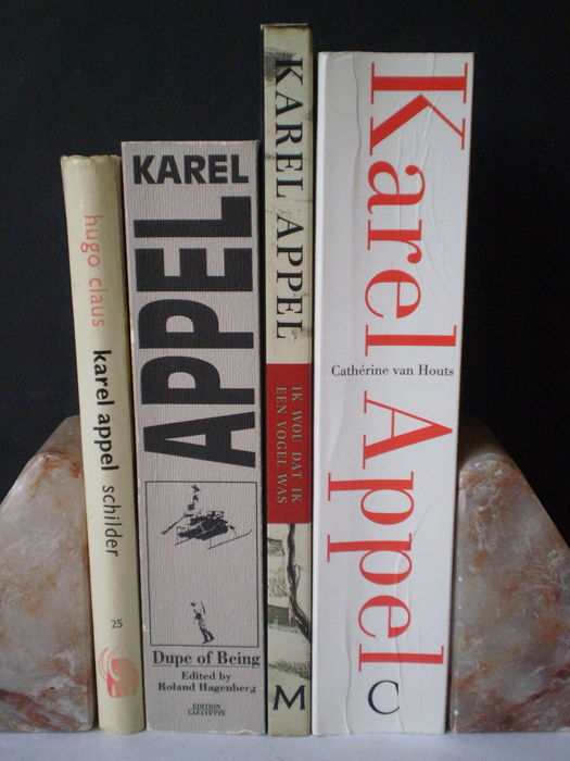 Karel Appel: Lot with 4 publications - 1964-2000