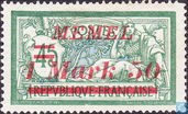 Type Merson, with overprint