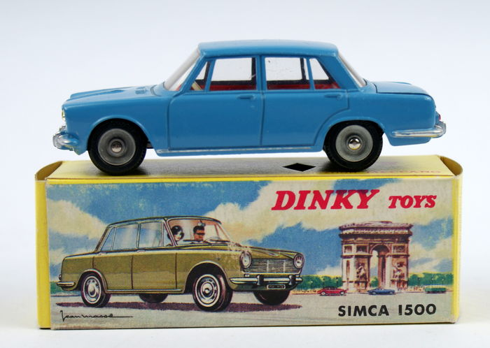dinky toys chelle 1 43 lot avec simca 1500 rare et simca 1500 break catawiki. Black Bedroom Furniture Sets. Home Design Ideas