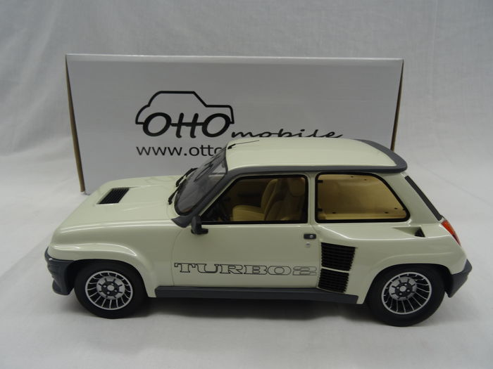otto mobile chelle 1 12 renault 5 turbo 2 blanc. Black Bedroom Furniture Sets. Home Design Ideas