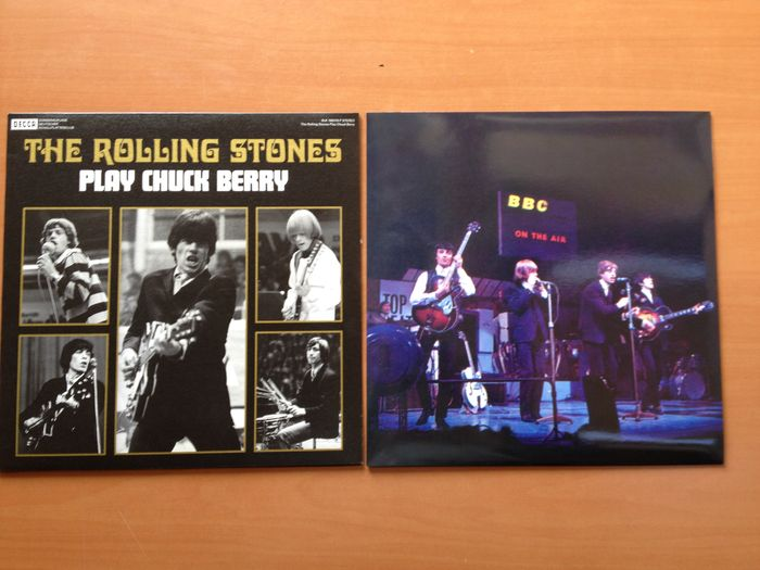 "The Rolling Stones  LP  ""Play Chuck Berry""  &  ""Rolling Stones On Air"""