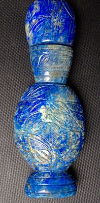 Lapis lazuli container – India –Early 20th century
