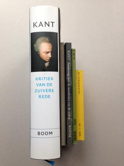 Philosophy Lot With 4 Books Of Immanuel Kant 5 Volumes
