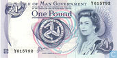Isle of Man 1 pound (P40b)